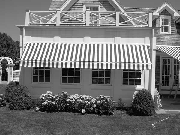 white black pin party awning pinterest striped paris cafe and